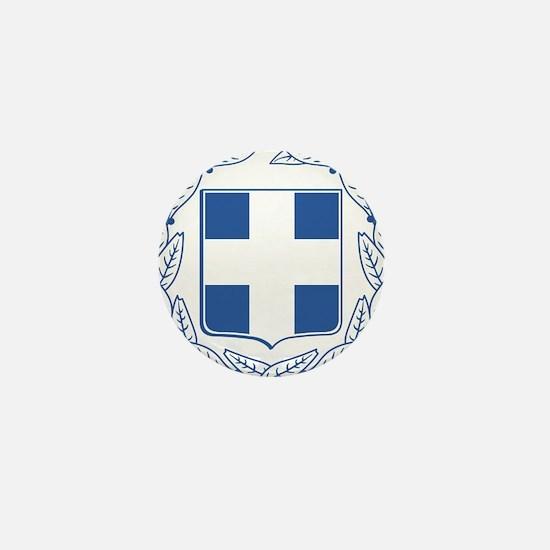 Greece Coat Of Arms Mini Button