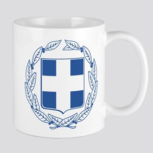 Greece Coat Of Arms Mug