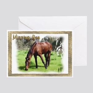 Horse Missing You Cards (Pk of 10)