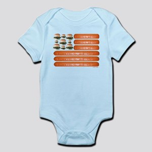 4th of July BBQ Infant Bodysuit