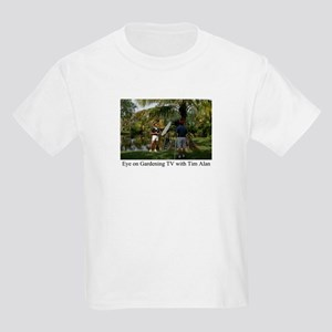 Eye on Gardening TV Shoot Kids T-Shirt