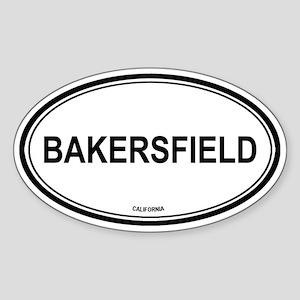 Bakersfield (California) Oval Sticker