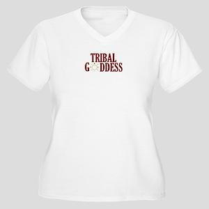 tgoddess Women's Plus Size V-Neck T-Shirt