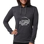 Eclipse 2017 Womens Hooded Shirt
