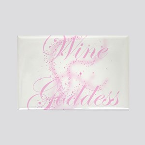 WineGoddessGlitter Rectangle Magnet