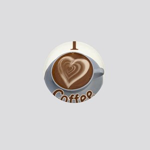 ILoveCoffeeCup Mini Button