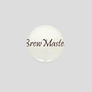 BrewMasterFilledBrown Mini Button