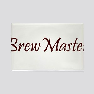 BrewMasterFilledBrown Rectangle Magnet