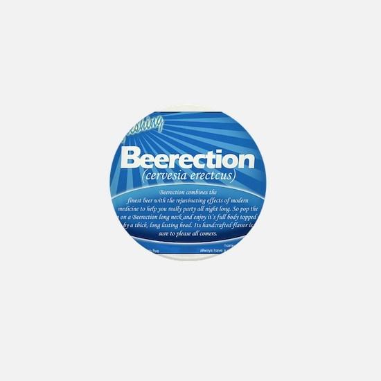Beerection Mini Button