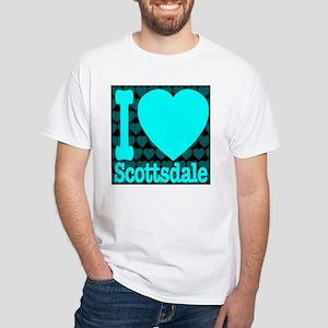 I (Heart) Scottsdale White T-Shirt