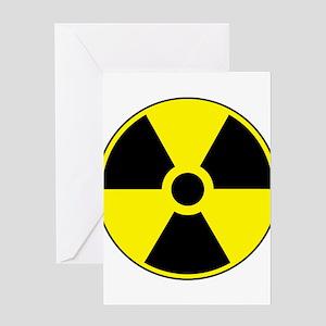 RadiationPlain Greeting Card