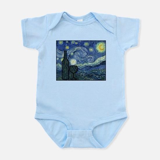 WineyNight.png Infant Bodysuit