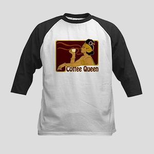 Nouveau Coffee Queen Kids Baseball Jersey