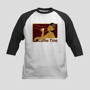 Nouveau Coffee Time Kids Baseball Jersey