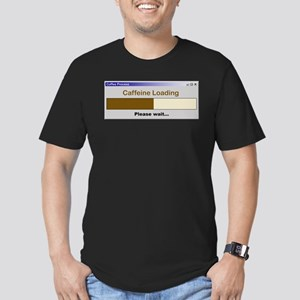 CaffeineLoading Men's Fitted T-Shirt (dark)
