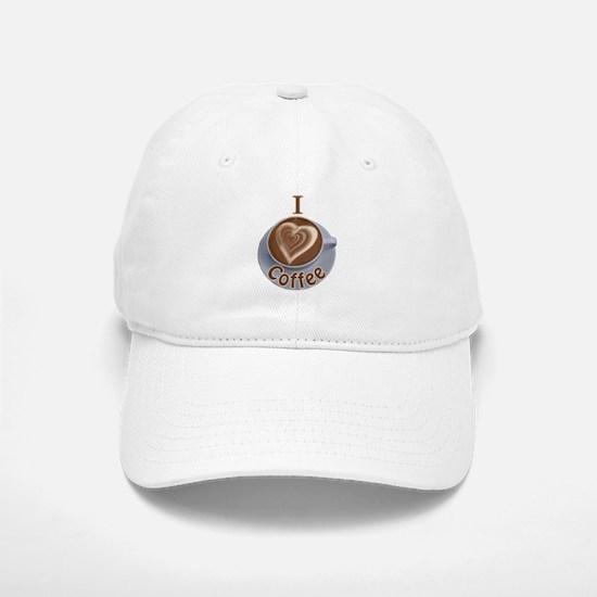 ILoveCoffeeCup.PNG Baseball Baseball Cap