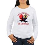 Half My Heart Women's Long Sleeve T-Shirt