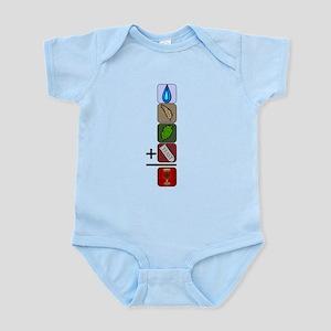 BeerFormulaBlack Infant Bodysuit