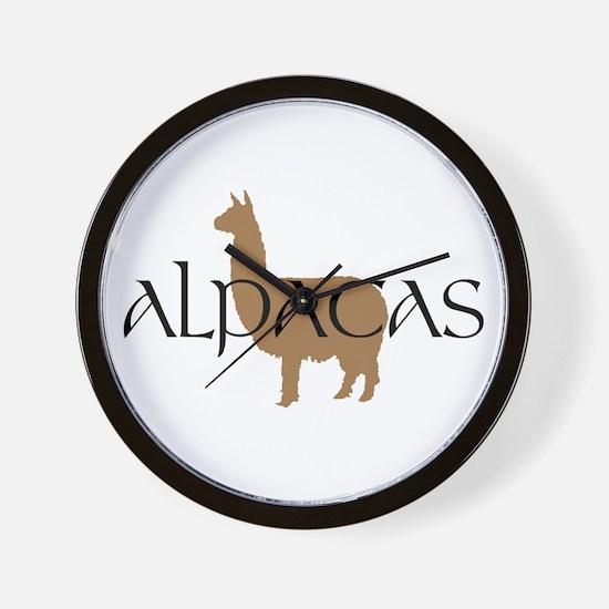 Funny Alpaca Wall Clock