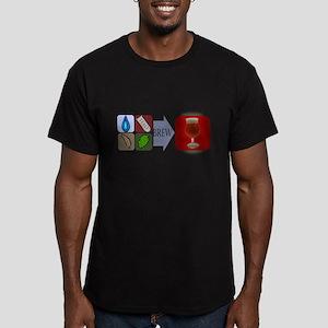 3-BeerFormulaCPV2 Men's Fitted T-Shirt (dark)
