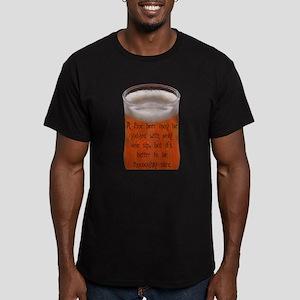 CzechProverb Men's Fitted T-Shirt (dark)