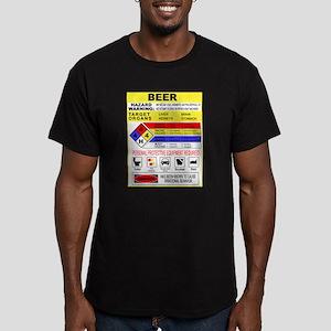 CrossingTheAle-ware Men's Fitted T-Shirt (dark