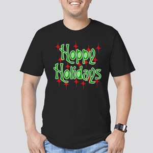 HoppyHolidays Men's Fitted T-Shirt (dark)