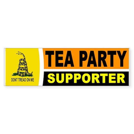TEA PARTY Sticker (Bumper)