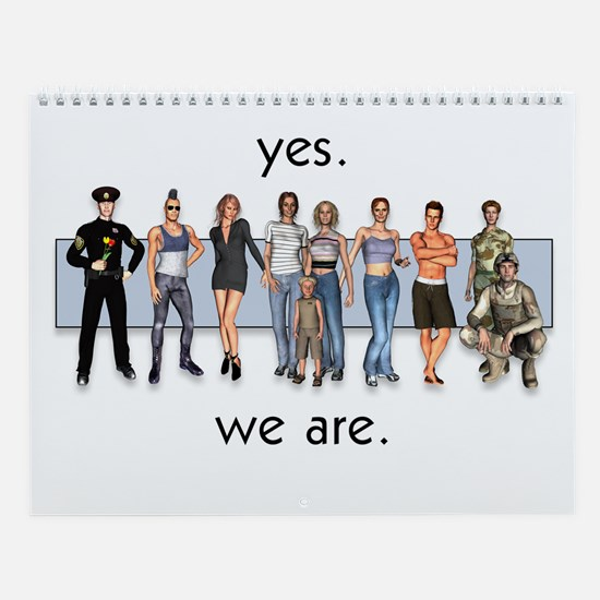 Yes. We Are. Gay/Lesbian/Trans