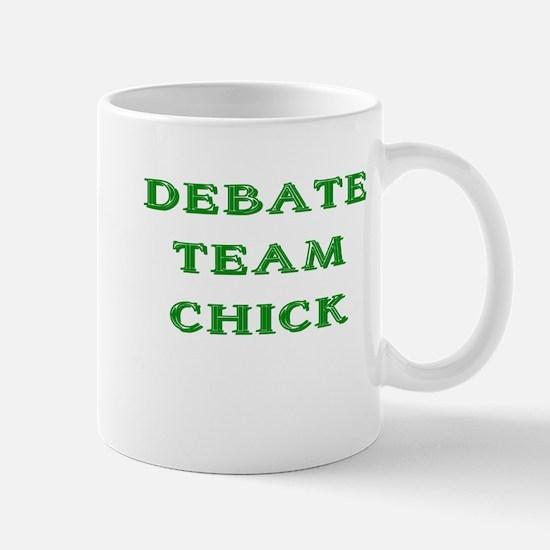 Debate Team Chick (Bold) Mug