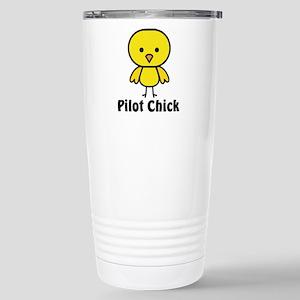 Pilot Chick Stainless Steel Travel Mug