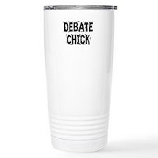 Debate Chick Stainless Steel Travel Mug
