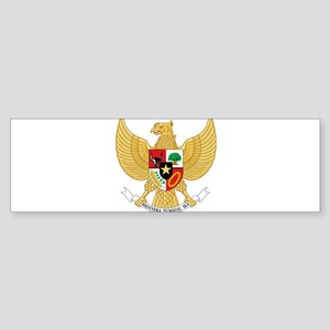 Indonesia Coat Of Arms Sticker (Bumper)