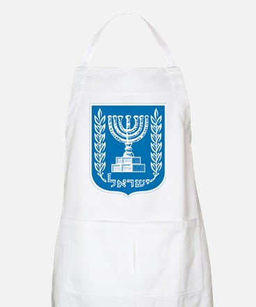 Israel Coat Of Arms Apron