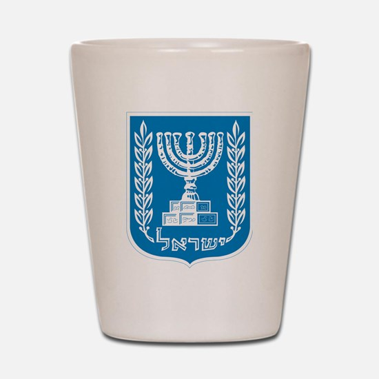 Israel Coat Of Arms Shot Glass