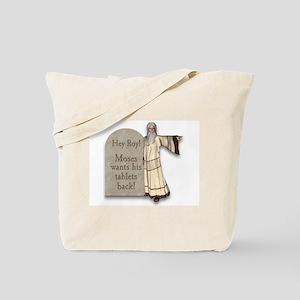 Moses Ten Commandments/ Roy Give them BACK! Tote B