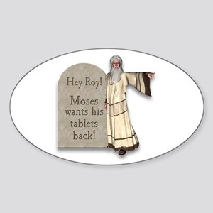 Moses Ten Commandments/ Roy Give them BACK! Sticke