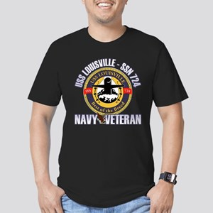 Navy Veteran SSN-724 Men's Fitted T-Shirt (dark)