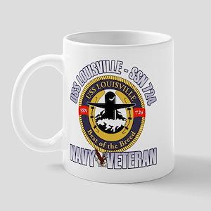 Navy Veteran SSN-724 Mug