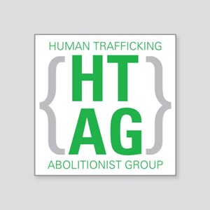 "HTAG Emblem Square Sticker 3"" x 3"""