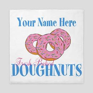 Doughnut Lover Queen Duvet