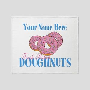 Doughnut Lover Throw Blanket