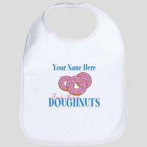 Doughnut Lover Baby Bib