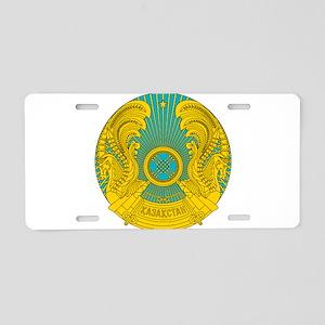 Kazakhstan Coat Of Arms Aluminum License Plate