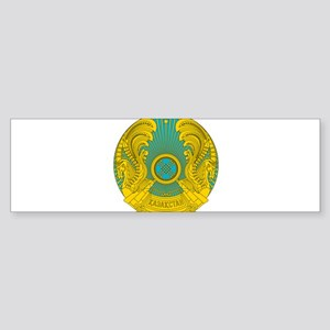 Kazakhstan Coat Of Arms Sticker (Bumper)