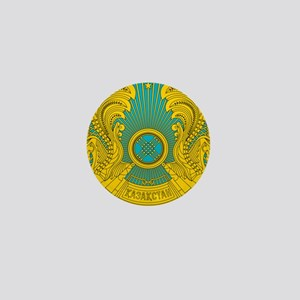Kazakhstan Coat Of Arms Mini Button