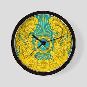 Kazakhstan Coat Of Arms Wall Clock