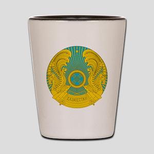Kazakhstan Coat Of Arms Shot Glass