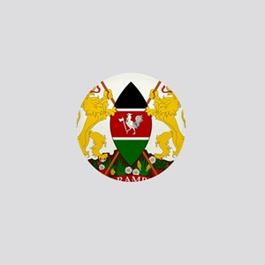 Kenya Coat Of Arms Mini Button