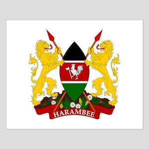 Kenya Coat Of Arms Small Poster